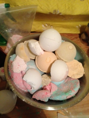 Bath Bomb Rejects