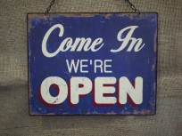 We're open - most of the time