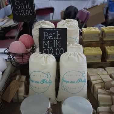 Soap me Pretty at market